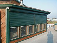 Alu Star Rectangle Rolling Storm Shutters